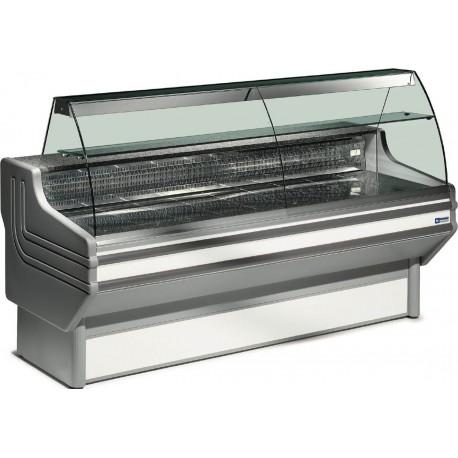 Vitrine réfrigérée 2 m vitres bombées | JY20/A1-R2 - Diamond