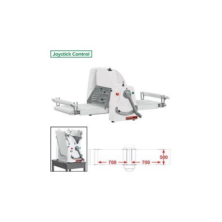 Laminoir à bande de table 750 mm | LB50-75/SS - Diamond