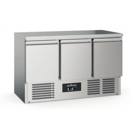 Desserte réfrigérée 3 portes   7950.5080 - EcoFrost