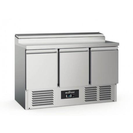 Saladette réfrigérée 3 portes | 7950.5060 - EcoFrost