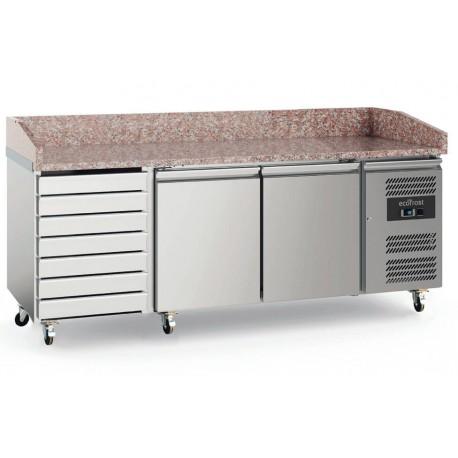 Meuble à pizzas 3 portes avec tiroirs | 7950.5150 - EcoFrost