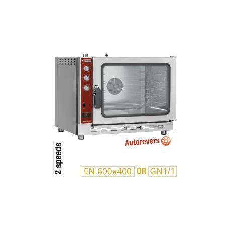 Four à convection gaz 5 niveaux GN 1/1 et 40x600