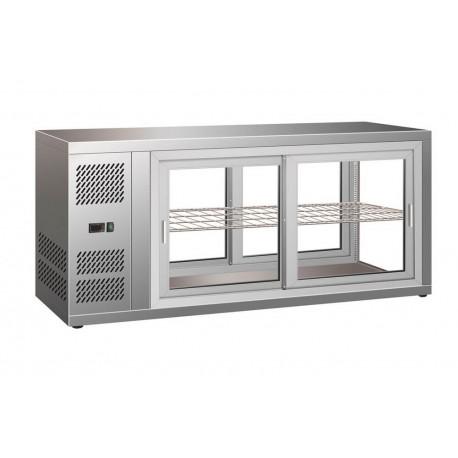 Vitrine réfrigérée à poser 150 litres | 7450.0600 - CombiSteel