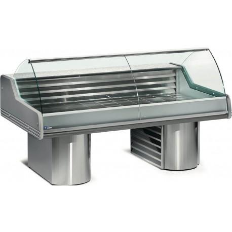 Vitrine réfrigérée à poisson 2m vitres bombées | SG20B/A1-R2 - Diamond