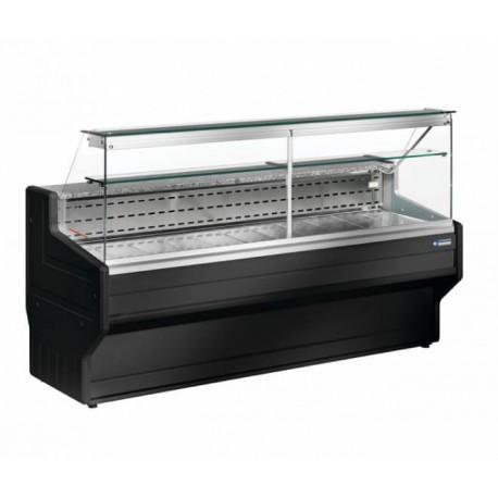 Vitrine réfrigérée noire 1 mètre | HL10/B5-R2 - Diamond