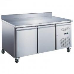 Table réfrigérée 2 portes adossée