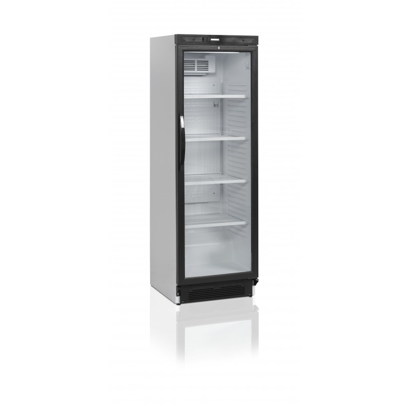 armoire r frig r e boissons avec porte vitr e et 4 tag res. Black Bedroom Furniture Sets. Home Design Ideas