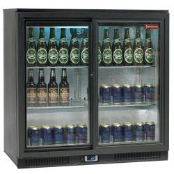 Refroidisseur de bouteilles 2 portes coulissantes