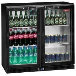 Refroidisseur de bouteilles 2 portes battantes