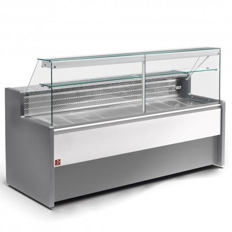 Vitrine  réfrigérée 1m vitres droites  | RO10/E8-R2 - Diamond