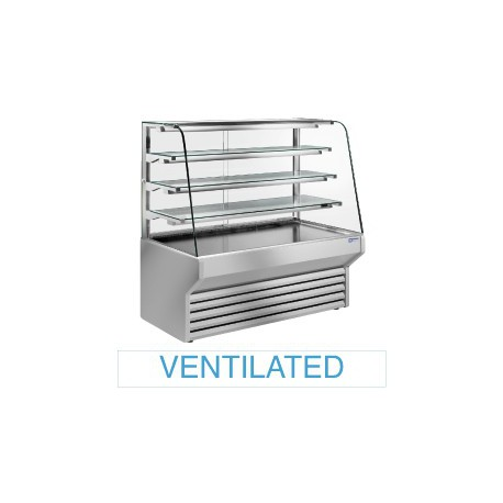 Vitrine à viennoiseries réfrigérée | ES10/A4-R2 - Diamond