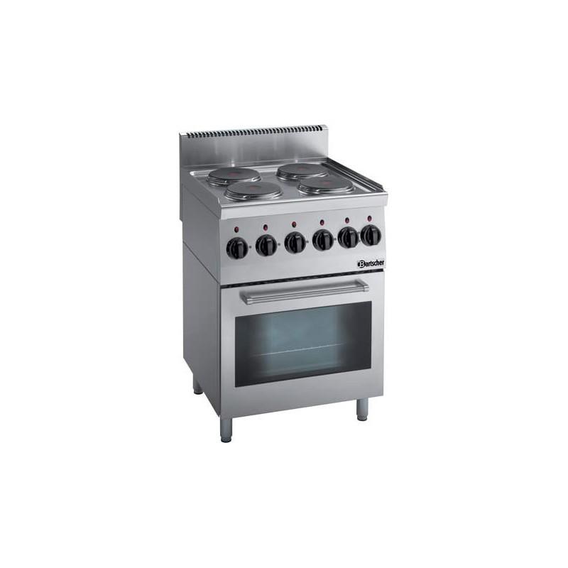 Fourneau de cuisson profesionnel lectrique bartscher 131764 for Materiel de cuisson professionnel