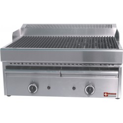 Grill vapeur à gaz 410x630xh430
