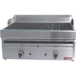 Grill vapeur à gaz 770x630xh430