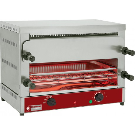 Toaster salamandre 520x320 mm | MD22/R-N - Diamond