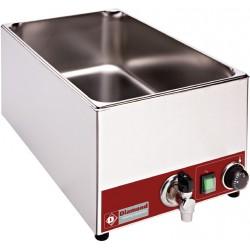 Bain-marie de table électrique GN 1/1 - 150 mm + robinet