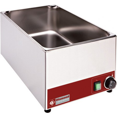 Bain-marie de table électrique GN 1/1 - 150 mm | BM1/X - Diamond