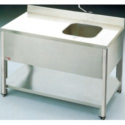 Table du chef inox 1600x700 mm