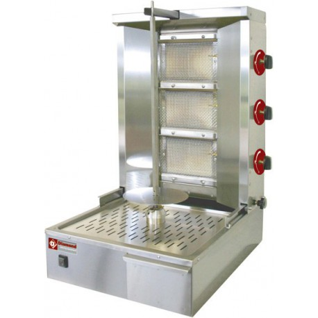 Machine à kebab gaz 35 Kg | KEB-G61 - Diamond