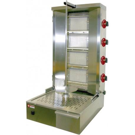 Machine à kebab gaz 55 Kg | KEB-G81 - Diamond