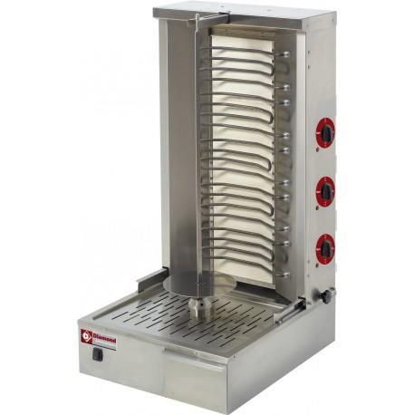 Machine à kebab électrique 55 Kg | KEB-E80 - Diamond