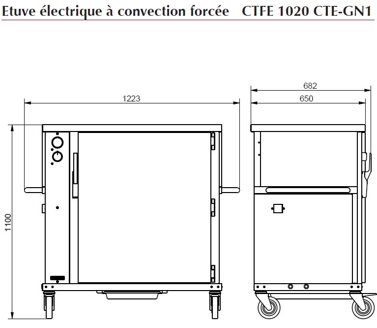 dimensions CTFE 1020 CTE-GN1