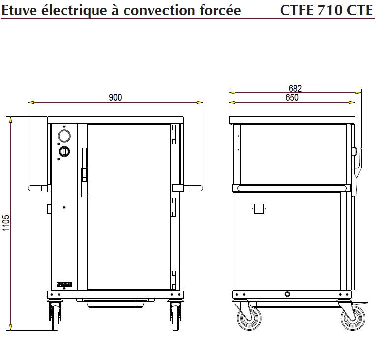 dimensions CTFE710CTE