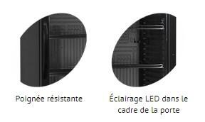 Poignée et éclairage CEV425-I Black