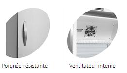 Poignée et ventilateur UR400S