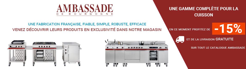 Profitez de 12% de remise et de la livraison gratuite sur tout le catalogue Ambassade de Bourgogne